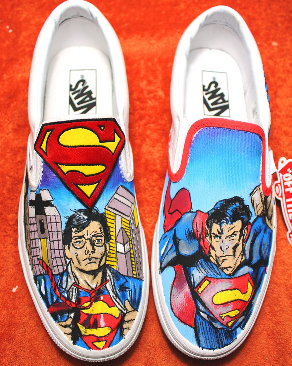ea7b09c1ca Custom Shoes SUPERMAN 2017 VANS