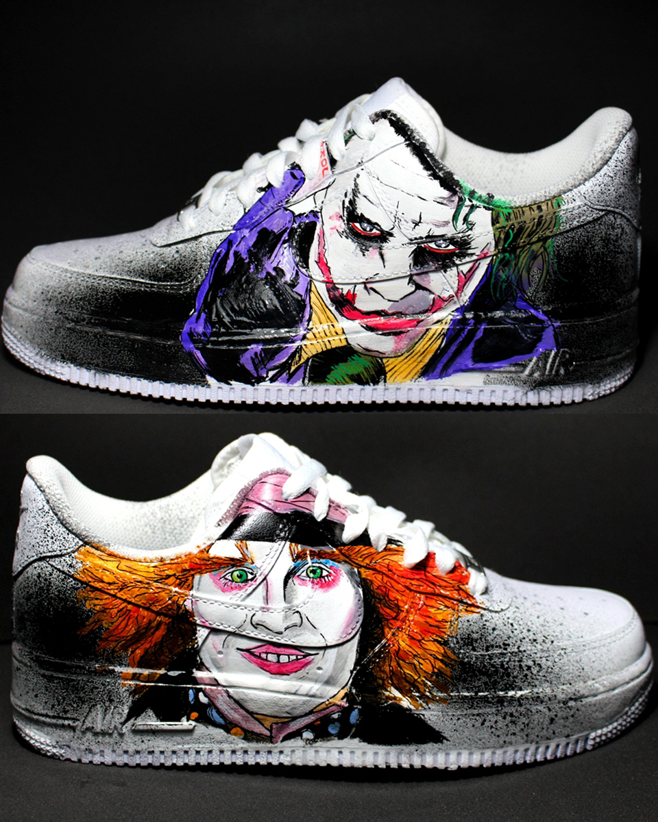 JOKER + MAD HATTER 2017 NIKE air force